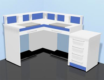 muebles laboratorios: